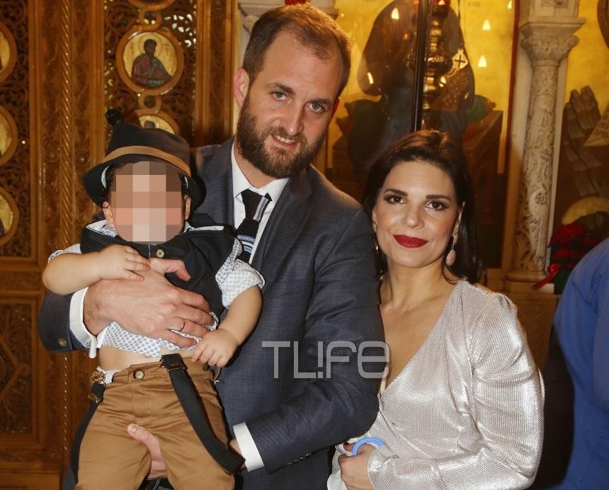 Μαρίνα Ασλάνογλου – Δημοσθένης Πέππας: Το φωτογραφικό άλμπουμ της βάφτισης του γιου τους!