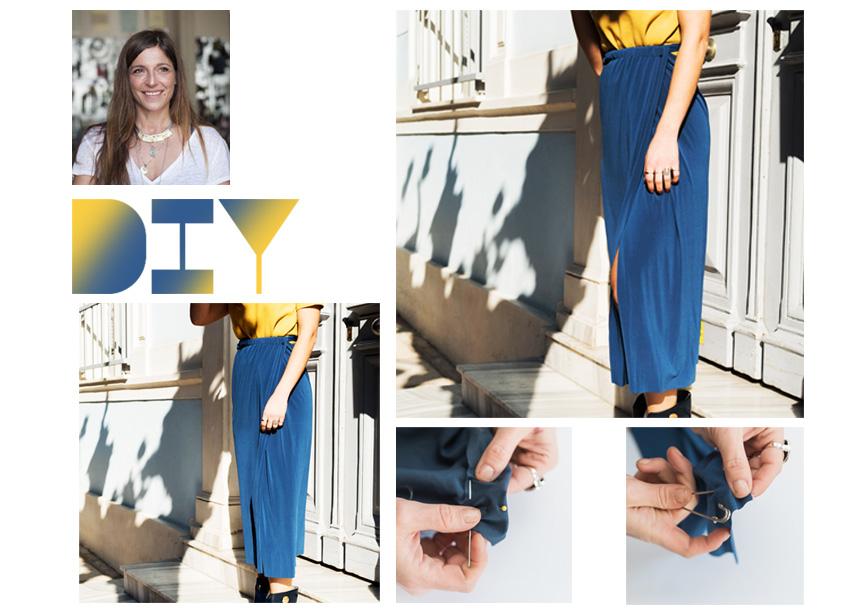 DIY: Πως να φτιάξεις την stylish φούστα που φορούν όλα τα κορίτσια στο pinterest | tlife.gr