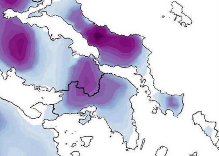 Καιρός: Πότε θα χιονίσει στην Αθήνα και που – Ο χάρτης της κακοκαιρίας | tlife.gr