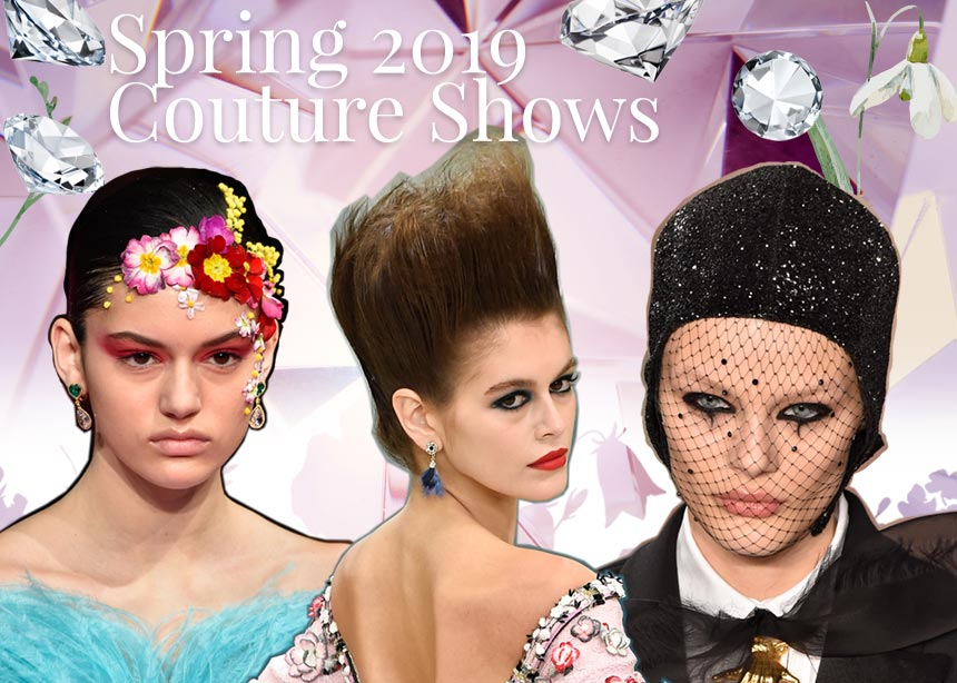 Αυτά είναι τα ωραιότερα beauty looks από τα couture shows για την άνοιξη του 2019! | tlife.gr