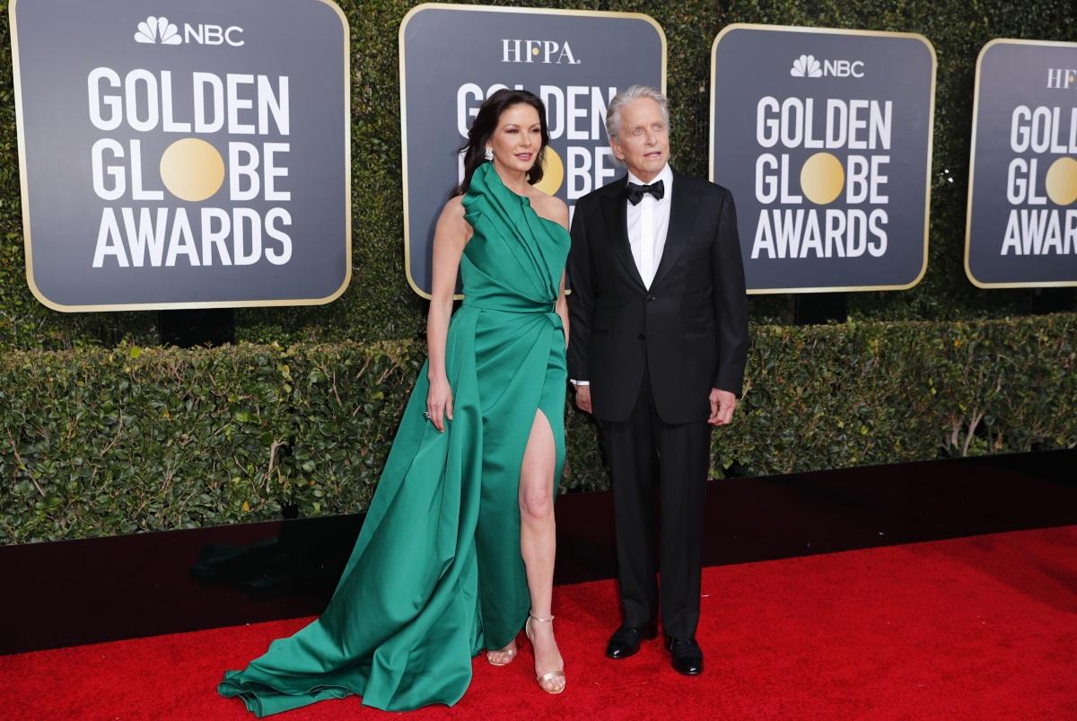 Golden Globes: Η Catherine Jeta Jones πανηγυρίζει την νίκη του Michael Douglas! Video και φωτογραφίες