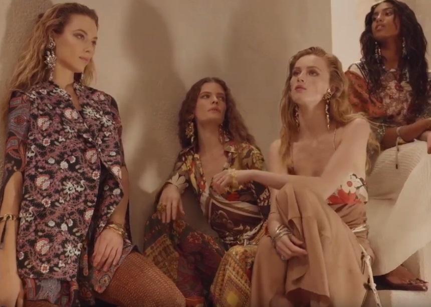A Warm Soft Of Parade: Η νέα καμπάνια του οίκου Chloe με την μοντέρνα hippie αισθητική