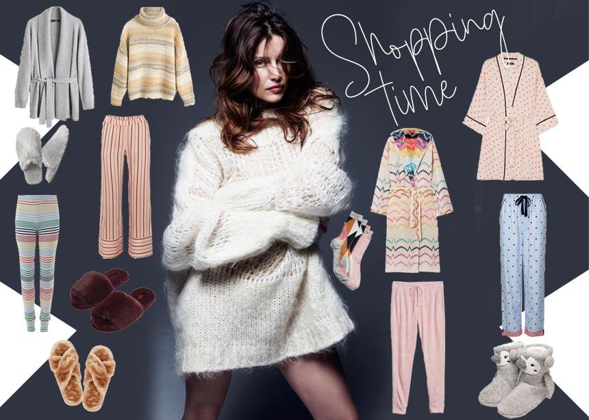 Cocooning Time: Ρούχα και αξεσουάρ για να είσαι άνετη και stylish… εντός σπιτιού!