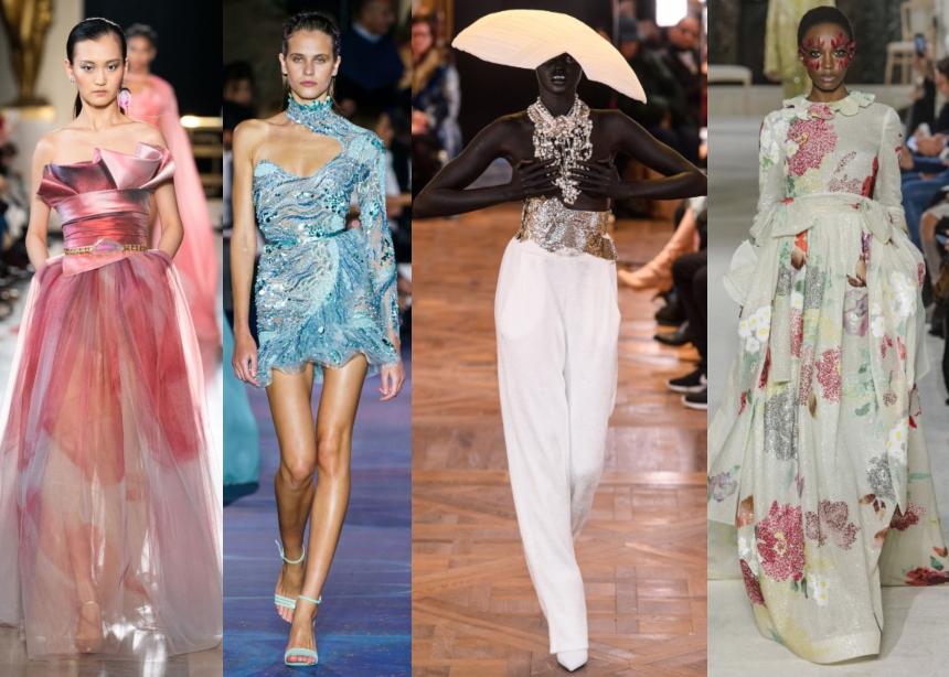Couture Week: Τα πιο εντυπωσιακά και πολυτελή looks που δημιούργησαν πέντε διάσημοι οίκοι