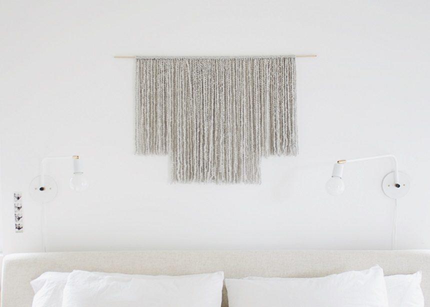DIYers: Φτιάξε μόνη σου το πιο εντυπωσιακό κρεμαστό διακοσμητικό για τον τοίχο | tlife.gr