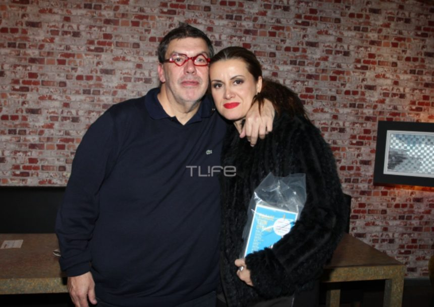 Άννα Δρούζα – Θανάσης Λάλας: Σπάνια εμφάνιση στο θέατρο! [pics]   tlife.gr