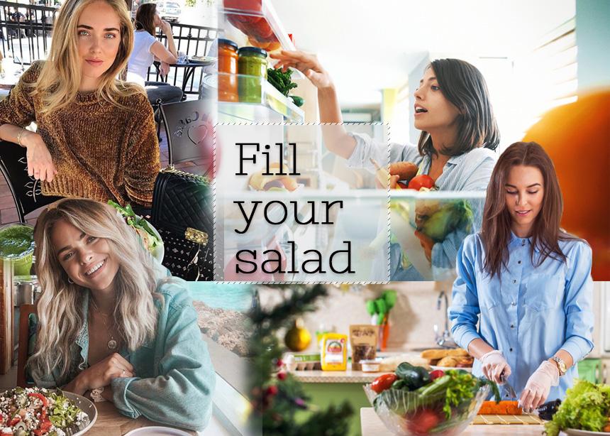 Πέντε έξυπνες κινήσεις για να κάνεις τη σαλάτα σου πιο χορταστική και νόστιμη | tlife.gr