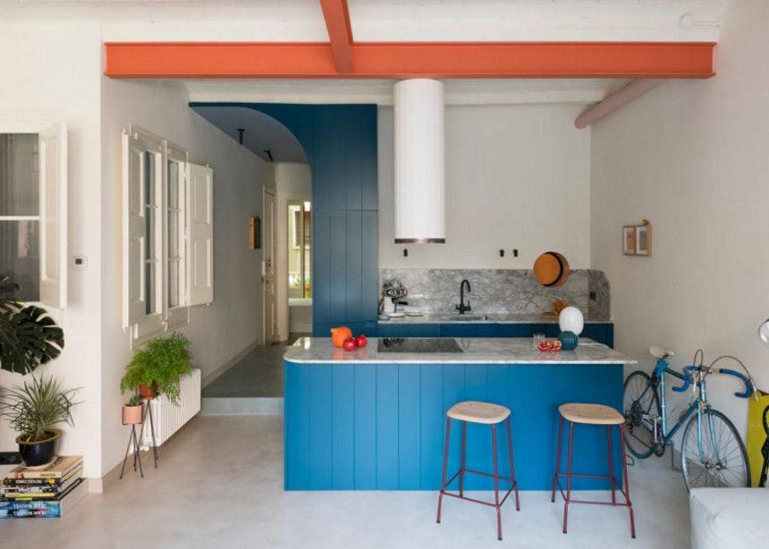 FONT 6 Apartment: Πώς ένα παραδοσιακό καταλανικό διαμέρισμα πήρε σύγχρονες… διαστάσεις | tlife.gr