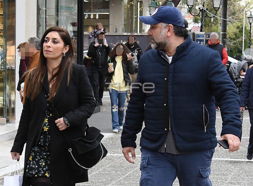 Γρηγόρης Αρναούτογλου – Νάνσυ Αντωνίου: Βόλτες στην Κηφισιά, λίγες μέρες μετά την επιβεβαίωση της σχέσης τους! [pics] | tlife.gr