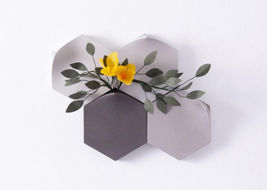 Jesmonite vases: Τα βάζα που εξυμνούν την δύναμη της φύσης με τον πιο ιδιαίτερο τρόπο!   tlife.gr