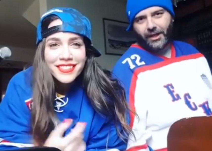 Kατερίνα Στικούδη: Τραγουδάει με τον σύζυγό της παίζοντας πιάνο στο σπίτι τους! video | tlife.gr