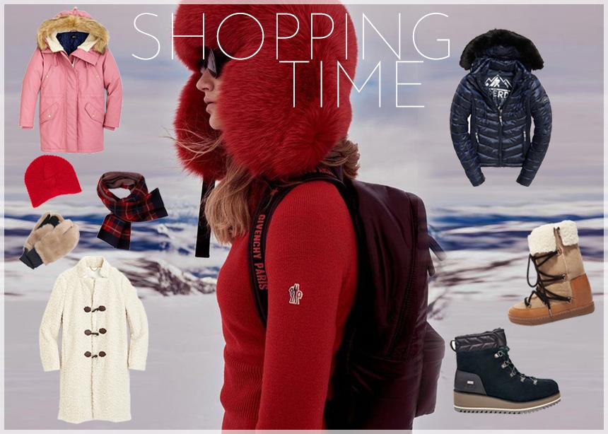 """Ζέστα πανωφόρια, μπότες και αξεσουάρ! Ο stylish """"εξοπλισμός"""" που χρειάζεσαι για τον κρύο χειμώνα"""