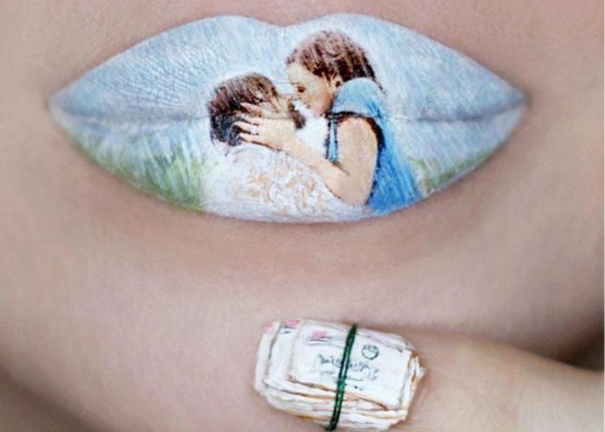 Αυτή η makeup artist ζωγραφίζει στα χείλη της πιο αγαπημένες μας σκηνές από ταινίες (και το κάνει τέλεια)! | tlife.gr