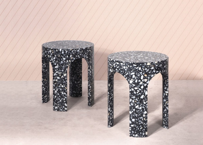 Loggia tables: Η σειρά αρχιτεκτονικών coffee tables που φτιάχτηκε εξολοκλήρου από terrazzo | tlife.gr