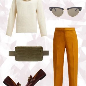 Το χρωματιστό lux παντελόνι