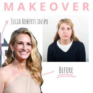 Makeover: δες την αναγνώστριά μας να μεταμορφώνεται σε Julia Roberts!