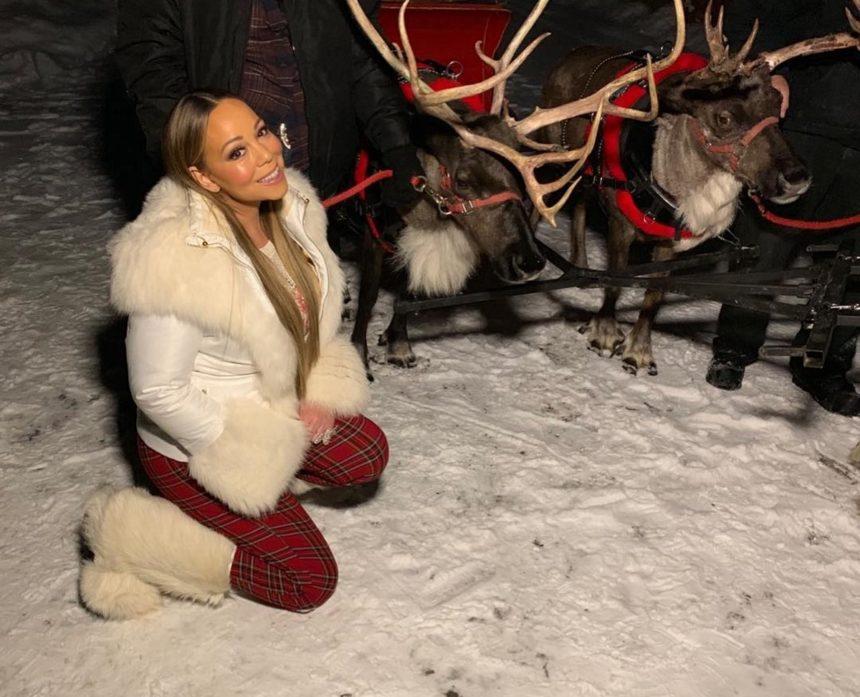 Mariah Carey: Ποζάρει μέσα στο χειμώνα με μικροσκοπικό μπικίνι και πανάκριβα κοσμήματα! [pics] | tlife.gr