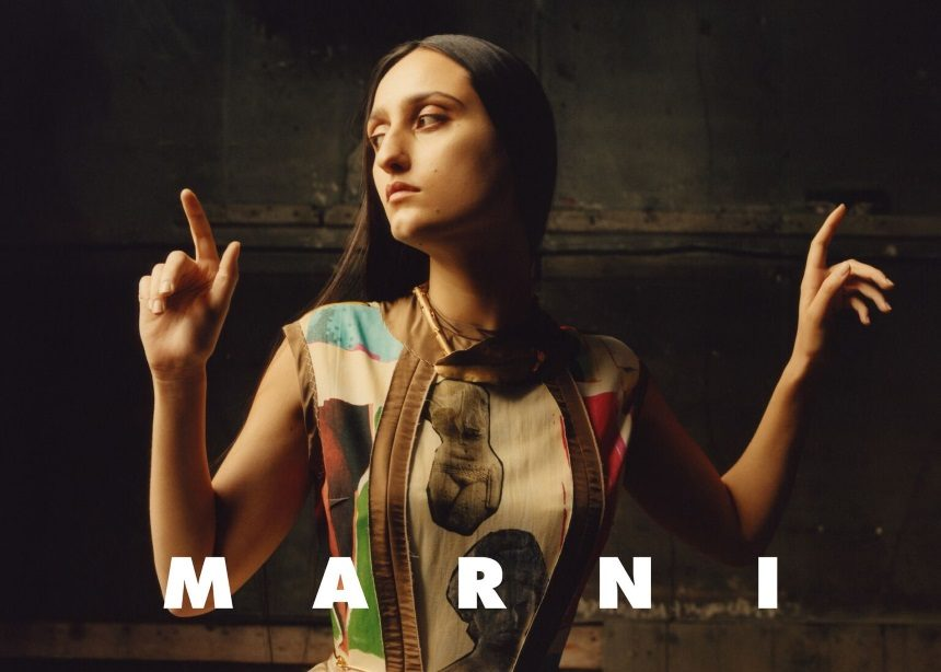 Στην νέα καμπάνια του οίκου Marni θα δεις μια elegant και σύγχρονη εκδοχή της Mona Lisa | tlife.gr