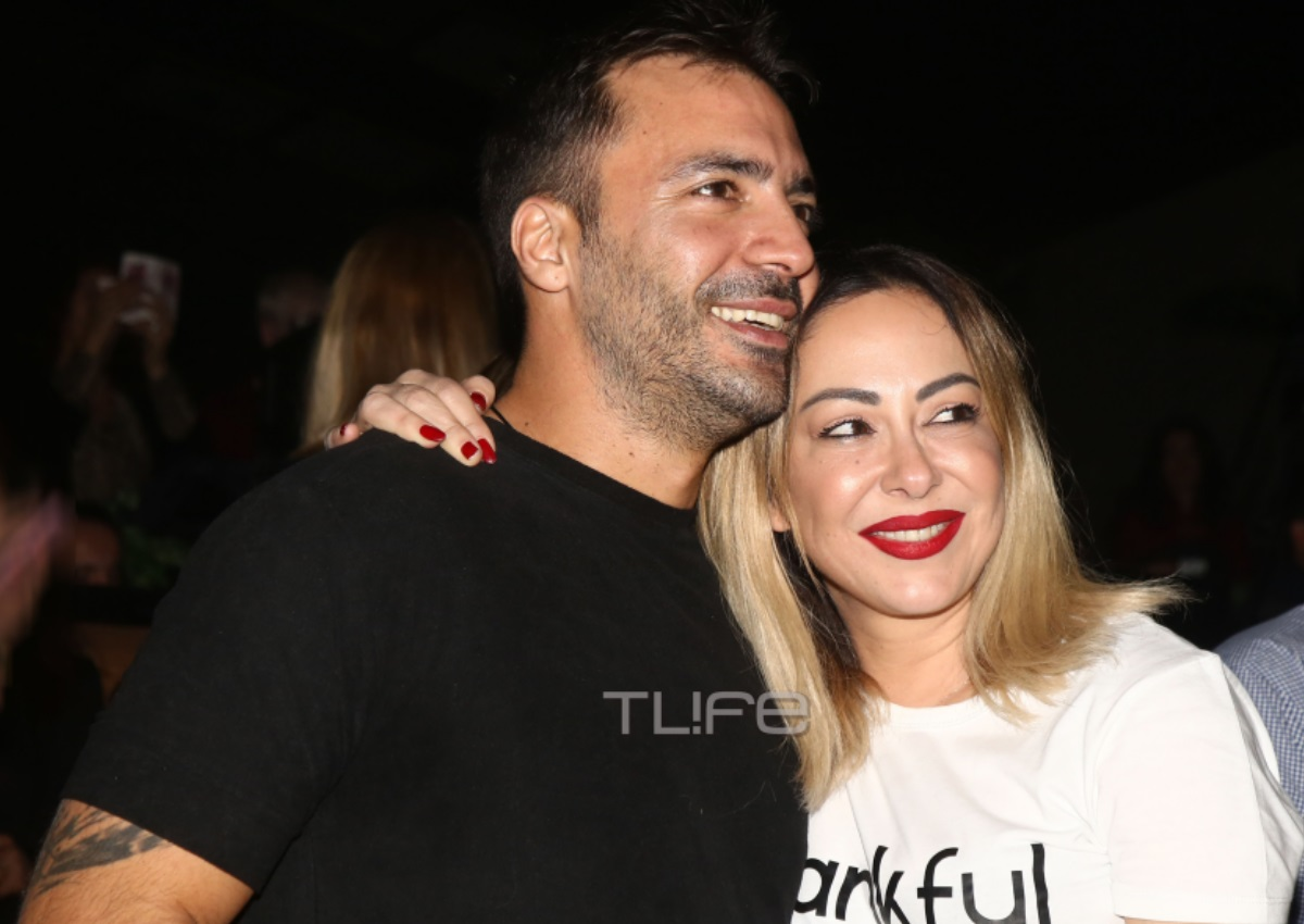 Μελίνα Ασλανίδου – Βασίλης Μουντάκης: Full in love σε βραδινή τους έξοδο! [pics]   tlife.gr
