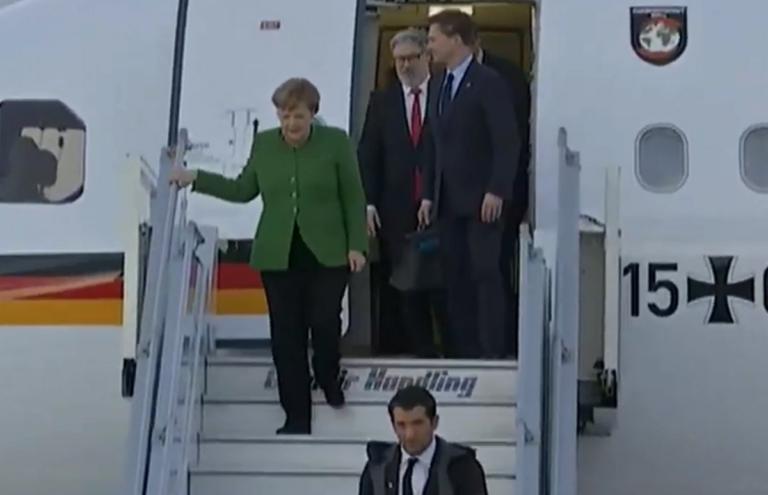Επίσκεψη Μέρκελ: Έφτασε η καγκελάριος στην Αθήνα!   tlife.gr