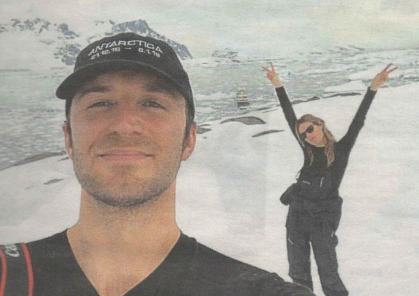 Τεό Νιάρχος – Camille Rowe: Ταξίδι στην Ανταρκτική για το ερωτευμένο ζευγάρι! | tlife.gr