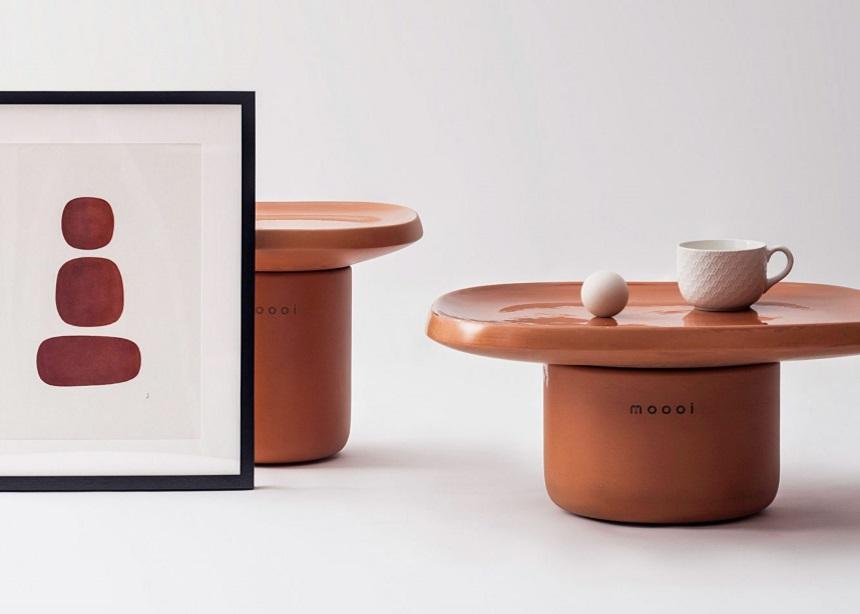 Obon: Τα μινιμαλιστικά coffee tables από τερακότα που θα σε ενθουσιάσουν με την απλότητά τους