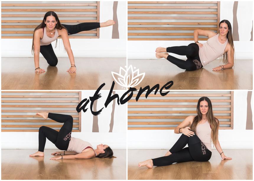 Γυμναστική στο σπίτι: Οι ασκήσεις που χρειάζεσαι για να εξαφανίσεις τα ψωμάκια
