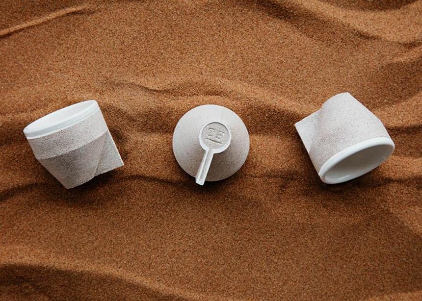 Ramel cups: Αυτά τα φλιτζανάκια για τον espresso σου είναι φτιαγμένο από άμμο | tlife.gr