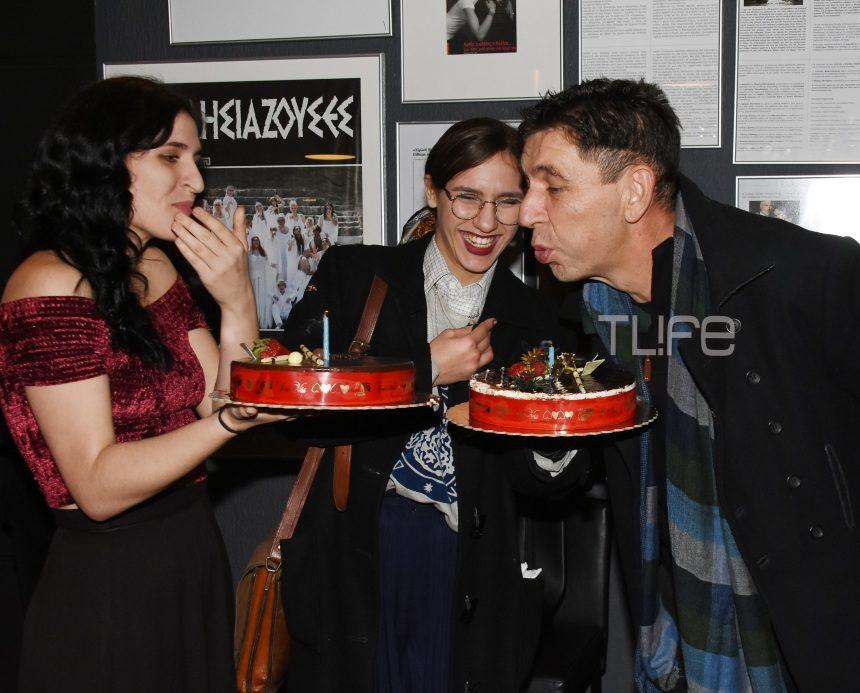 Γεράσιμος Σκιαδαρέσης: Η… δίδυμη έκπληξη από τις κόρες τους για τα γενέθλιά του! [pics] | tlife.gr