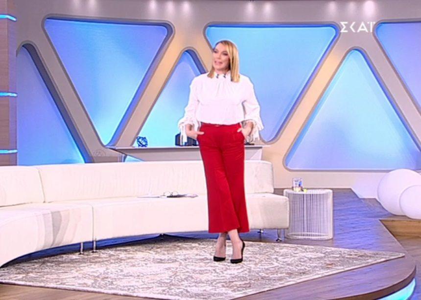 Όλες οι λεπτομέρειες για το look της Τατιάνας (30/01) | tlife.gr