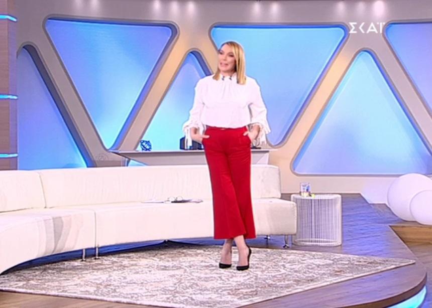 Όλες οι λεπτομέρειες για το look της Τατιάνας (30/01)   tlife.gr
