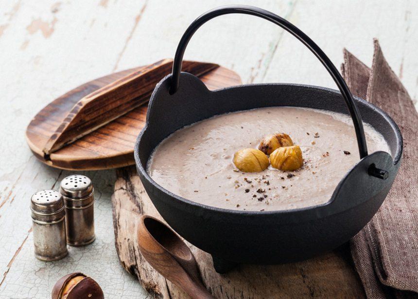 Σούπα με κάστανα και μαύρη τρούφα! | tlife.gr
