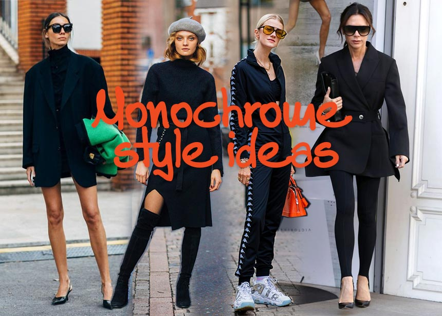 Αγαπημένο και διαχρονικό μαύρο! 14 street style looks για να πάρεις total black έμπνευση…