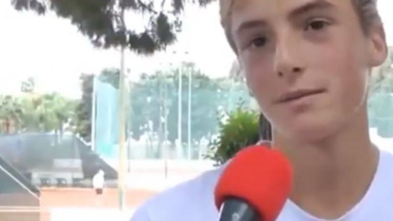 Τσιτσιπάς: Όταν ο 10χρονος Στέφανος μιλούσε για το είδωλο του, Ρότζερ Φέντερερ – video | tlife.gr