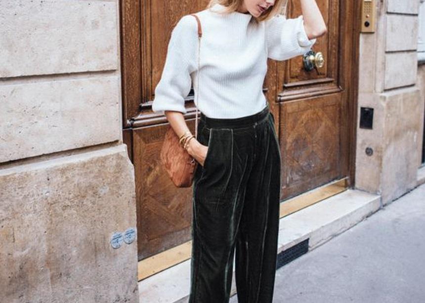 Στιλιστικές ιδέες για να φορέσεις το βελούδο τις πρωινές ώρες | tlife.gr