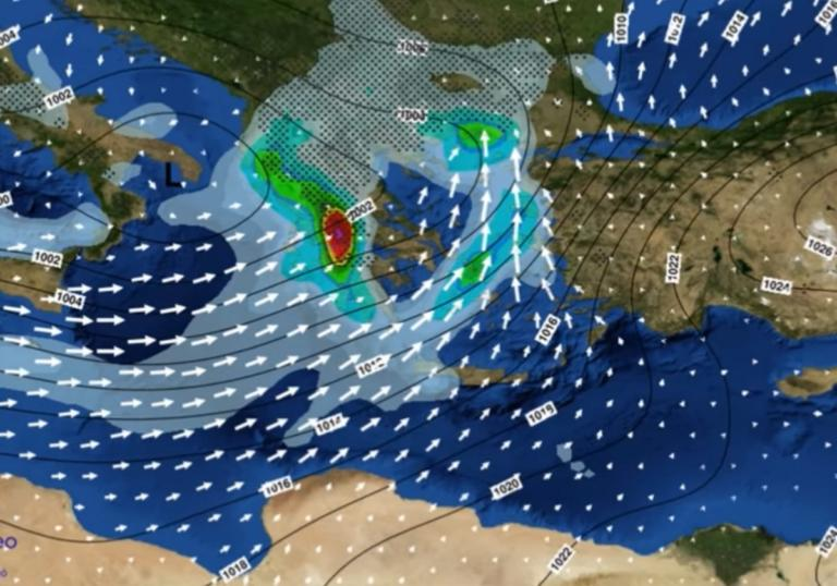 """Καιρός: """"Υπατία"""" η νέα κακοκαιρία από Τετάρτη 09/01!   tlife.gr"""