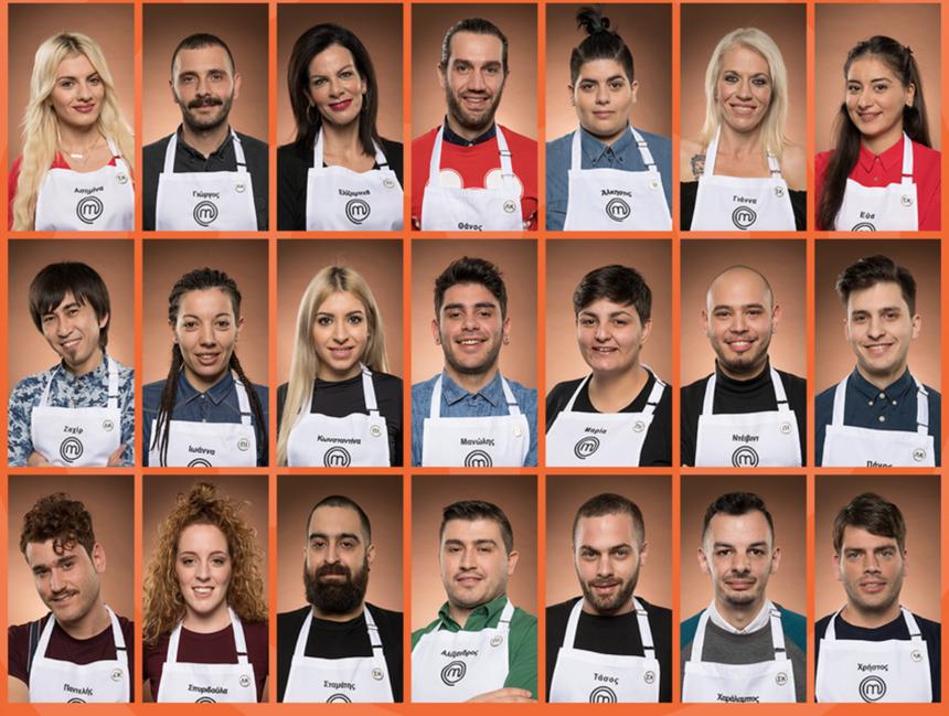 Master Chef 3: Γνώρισε τους 21 νέους παίκτες του διαγωνισμού μαγειρικής!   tlife.gr