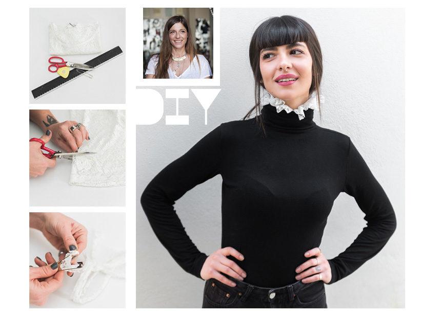 DIY collar: Πως να φτιάξεις αυτό το stylish αξεσουάρ που θα αλλάξει ύφος στα πουλόβερ και τα ζιβάγκο σου   tlife.gr