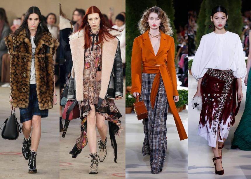 Εβδομάδα Μόδας στη Νέα Υόρκη: Τα πιο όμορφα looks που είδαμε στα catwalks των Coach και Oscar de la Renta