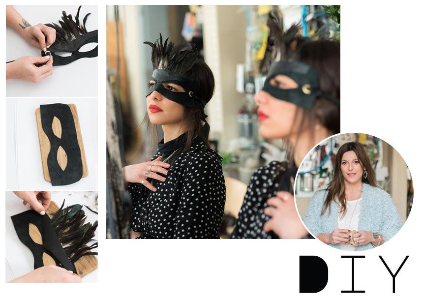 DIY: Βήμα – βήμα πως να φτιάξεις μια μάσκα για τις απόκριες   tlife.gr