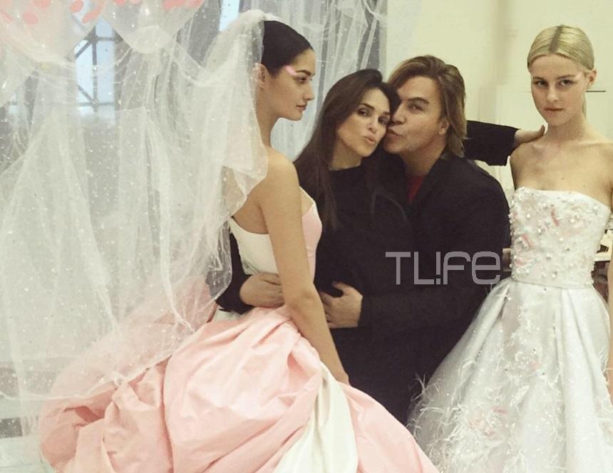 Σήλια Κριθαριώτη: Όλα όσα έγιναν backstage στην εντυπωσιακή επίδειξη μόδας στο Ζάππειο! Φωτογραφίες | tlife.gr