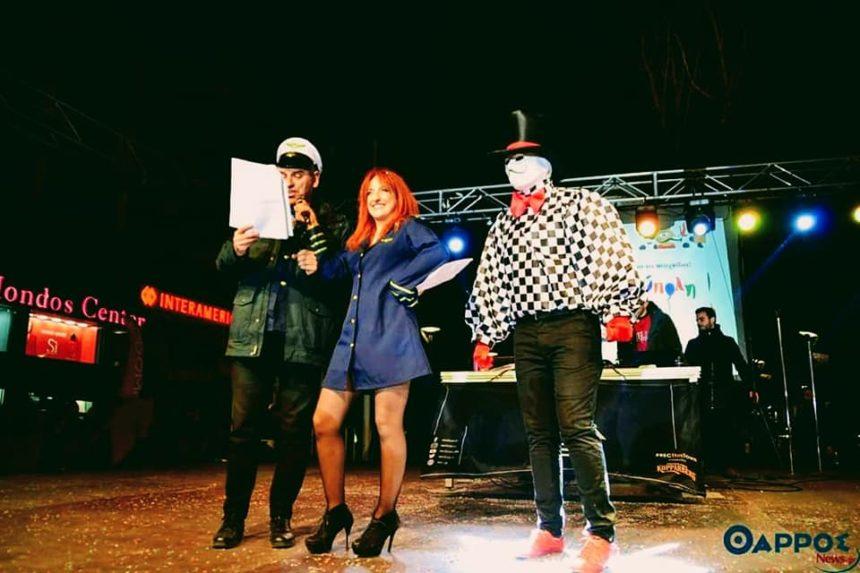 Φωτεινή Ψυχίδου: Παρουσίασε την έναρξη του καρναβαλιού της Καλαμάτας και μετά διασκέδασε με τον Κοργιαλά! [pics,vid] | tlife.gr