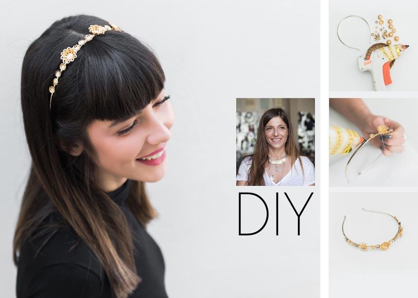 DIY: Φτιάξε μόνη σου ένα όμορφο headpiece που θα ολοκληρώσει το look σου την ημέρα του Αγίου Βαλεντίνου | tlife.gr