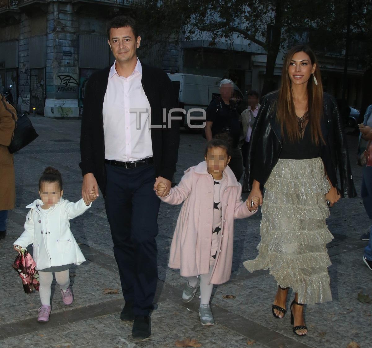Αντώνης Σρόιτερ – Ιωάννα Μπούκη: Μαγικές στιγμές στην Αράχοβα με τις κόρες τους! Video | tlife.gr