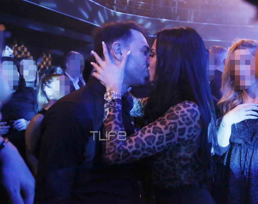 Δήμητρα Αλεξανδράκη: Καυτά φιλιά σε βραδινή της έξοδο με τον σύντροφό της! [pics]