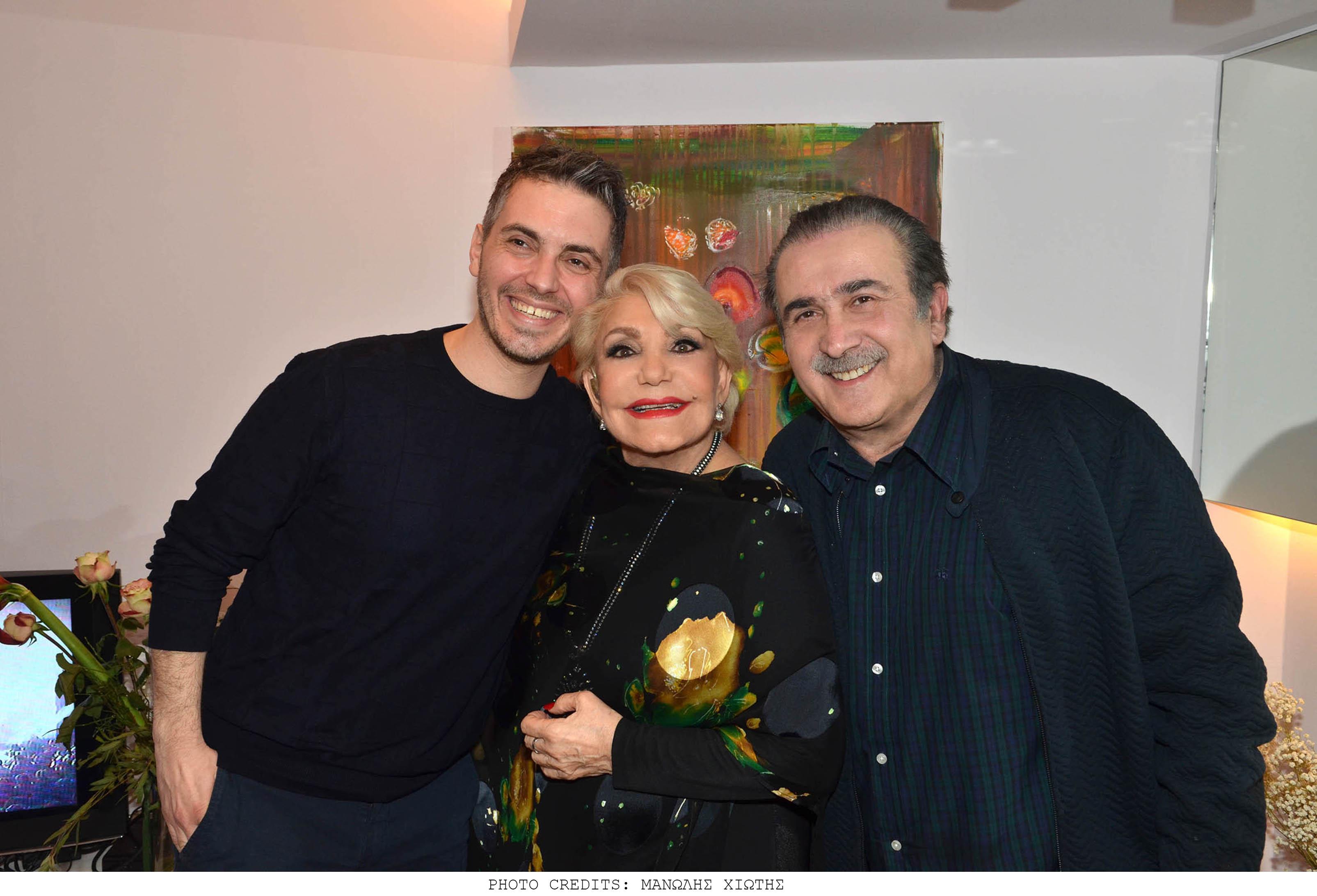 Λάκης Λαζόπουλος, Γιώργος Λιάγκας και Μιχάλης Χατζηγιάννης, διασκέδασαν χθες στη Μαρινέλλα! [pics] | tlife.gr