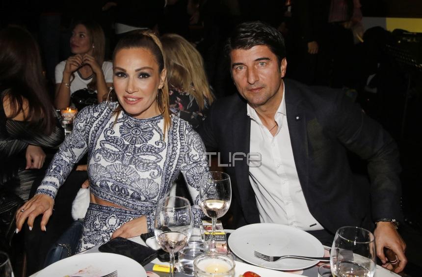 Ελένη Πετρουλάκη: Σπάνια βραδινή έξοδος με τον γοητευτικό σύζυγό της, Ίλια Ίβιτς! [pics]