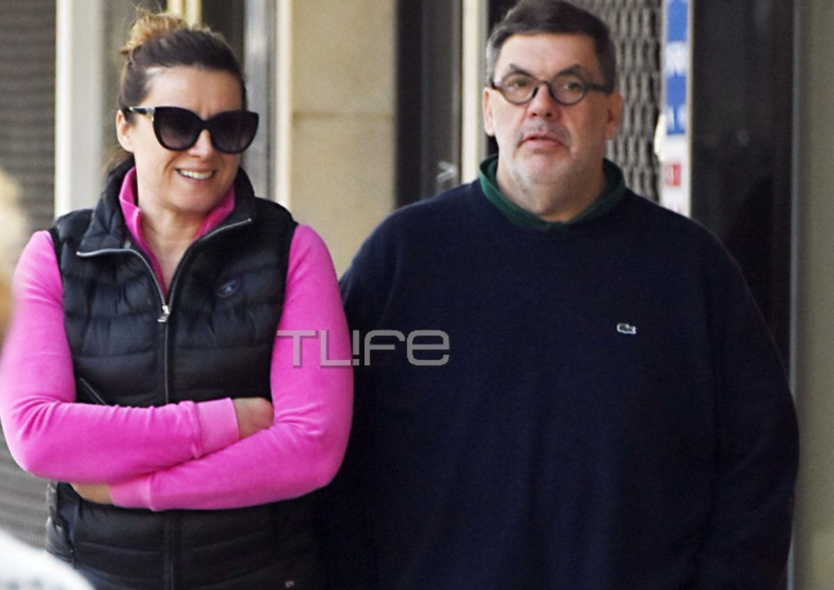 Άννα Δρούζα – Θανάσης Λάλας: Οι βόλτες τους στην Κηφισιά με casual look! [pics] | tlife.gr
