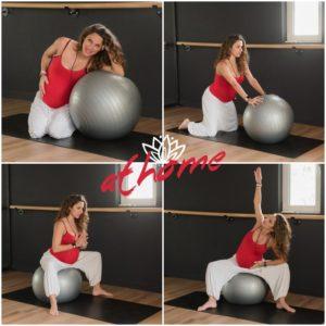 Ασκήσεις με μια μπάλα για εύκολο και ανώδυνο τοκετό