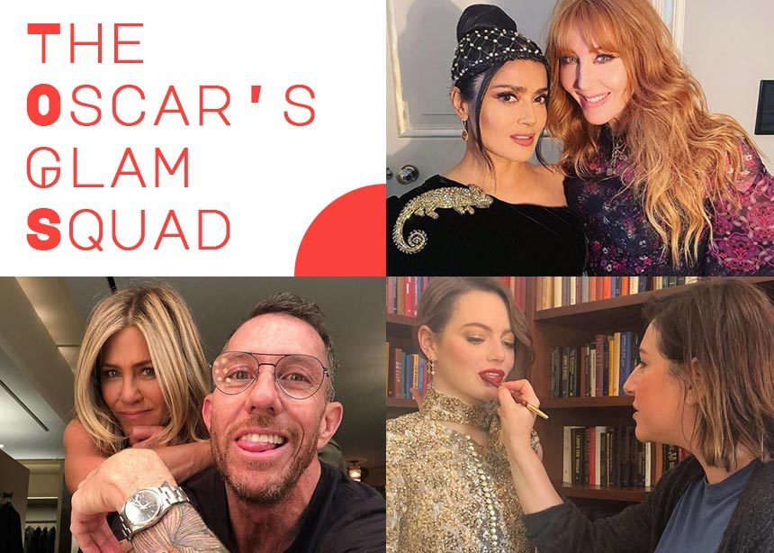 Glam squad: οι beauty expert που πρέπει να ακολουθήσεις στο instagram για να δεις την προετοιμασία των διασήμων για τα Όσκαρ! | tlife.gr